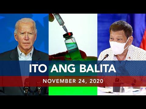 UNTV: Ito Ang Balita | November 24, 2020