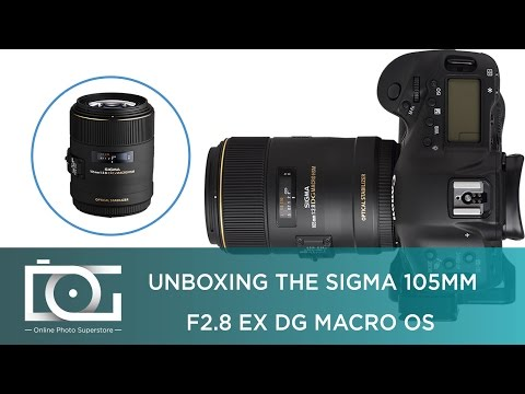 UNBOXING REVIEW | SIGMA 105mm f/2.8 EX DG OS HSM Macro Lens for CANON DSLR Cameras