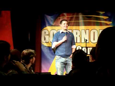 Hugh Murray at Governor's Comedy Club 2-16-2011