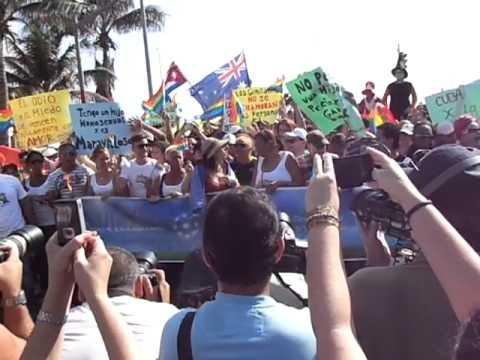 Concert de Congas contre l'homophobie à Cuba