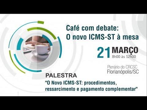Café com debate: o novo ICMS-ST à mesa