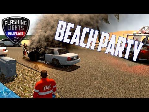 Flashing Lights - Multiplayer - Beachparty