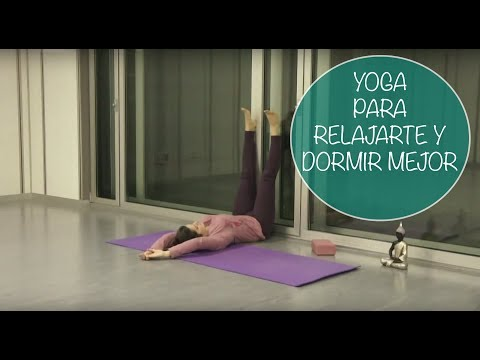 Clase de yoga en casa para relajarte y dormir mejor – Yogahora.com