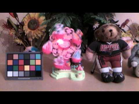 Alcatel OneTouch Pop 8 Indoor Sample Video