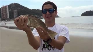 Pescaria De Praia Em Matinhos - PR, Dia 02/02/2013 (LFCP)