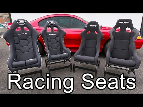 Racing Seats: How to Pick Out the Best Seats for your Car (видео)