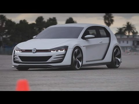 Volkswagen Design Vision GTI – KBB Drives a Concept Car