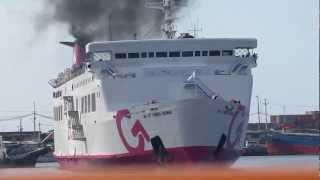 Video 2GO Travel M/V Saint Thomas Aquinas Docking Maneuver MP3, 3GP, MP4, WEBM, AVI, FLV Juni 2018