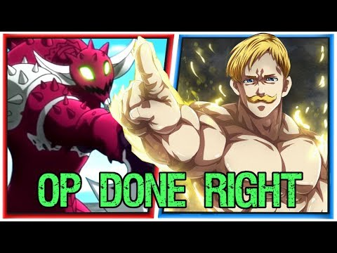 How to Introduce an Overpowered Badass - Escanor vs Galand from the Seven Deadly Sins