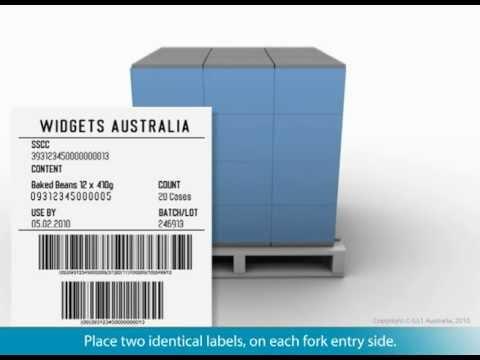 Logistics Pallet Labelling Service - GS1 Australia