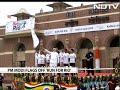 PM Modi flags-off Run for Rio in Delhi - Video