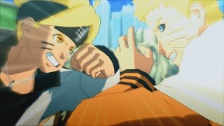 Sage Mode Boruto vs Hokage Naruto Edo Tensei Boss Fight - Naruto Ninja Storm 4 Road to Boruto PC MOD