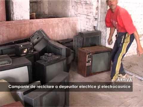 Campanie de reciclare a deșeurilor electrice și electrocasnice