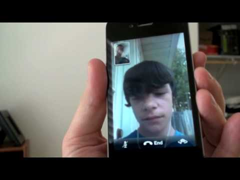 facetime - Other iPhone 4 Videos: iPhone 4 Unboxing: http://cuthut.com/q5i FaceTime Demo: http://cuthut.com/8iA iPhone 4 Retina Display: http://cuthut.com/aCo iPhone 4 ...