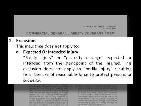 A Practical Guide for Analyzing Liability Insurance Policies – May 2013