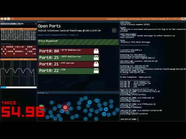 Видео к игре Hacknet