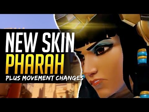 Overwatch NEW PHARAH SKIN and Movement changes