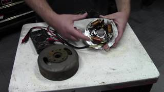 7. Ignition system testing, Magneto coils, Points and CDI