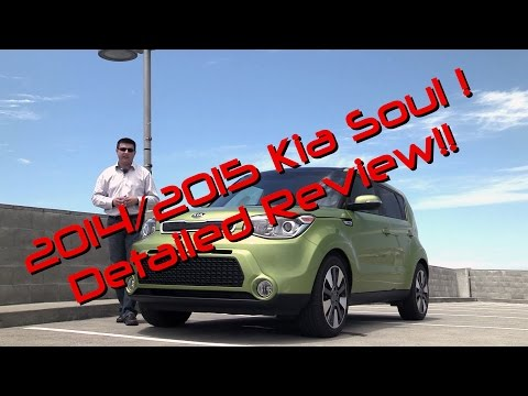 2015 Kia Soul Exclaim Detailed Review and Road Test