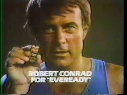 Robert Conrad 1978 Eveready Battery Commercial