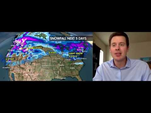 2.2 Snow Before You Go: Storm Surge Returns to West - ©Meteorologist Chris Tomer