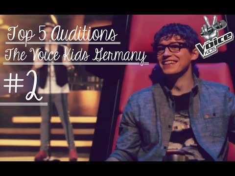 Top 5 Auditions | The Voice Kids Germany #2