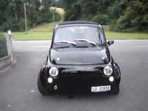 Fiat 500 - 'La Bestia', die Bestie ist wohl mehr als passend für dieses Tuningprojekt! Klein, schwarz und gemein ;) Dieser Fiat 500...