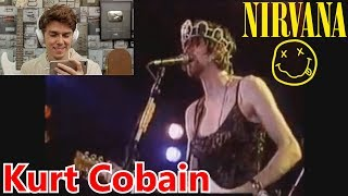 Reaccionando A Los Momentos Más Graciosos De Kurt Cobain - Nirvana
