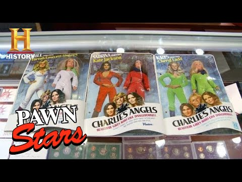Pawn Stars: Tough Negotiation for Charlie's Angels Figurines (Season 13) | History