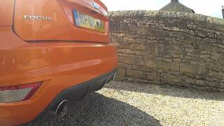 Ford Focus ST 2008 Mountune vs Standard Exhaust HD
