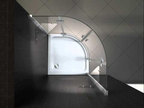 Duschkabine, Eckdusche, Duschtür, Duschabtrennung, Dusche von Qualitativ-Innovativ