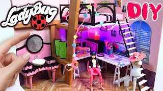 Video DIY Habitación en MINIATURA de MARINETTE Miraculous Ladybug Casa de Muñecas  PRODIGIOSA LADYBUG MP3, 3GP, MP4, WEBM, AVI, FLV Juli 2018