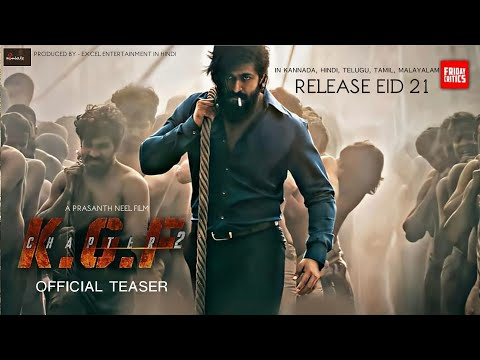 KGF Chapter 2 Teaser Trailer, Yash, Sanjay Dutt, Srinidhi, Prasant Neel, KGF 2 Teaser Trailer Hindi