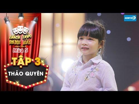 Thách thức danh hài 5| Tập 3: Trường Giang, Trấn Thành thích thú khi cô bé dùng chiêu hối lộ cao tay - Thời lượng: 5 phút, 18 giây.