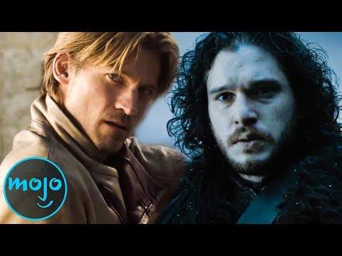 Top 10 Best Game of Thrones Swordsmen (видео)