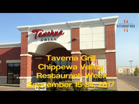 Taverna Grill - Chippewa Valley Restaurant Week - Eau Claire WI - Sept 2017