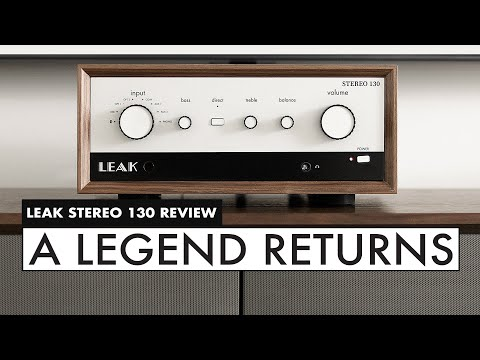 LEAK Audio is BACK! LEAK Stereo 130 REVIEW - Leak Audio Integrated Amp