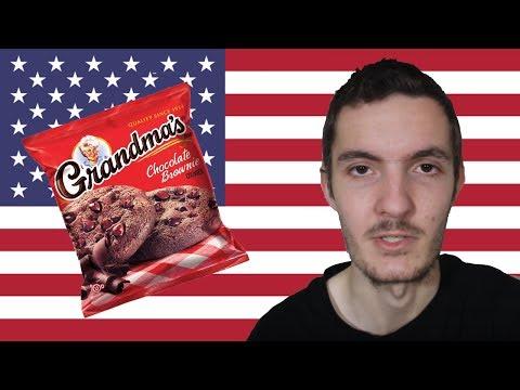 Trying Grandma's Chocolate Brownie Cookie