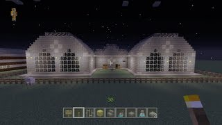 Minecraft Xbox - Speed Building Contest W/Lewis Blogs Gaming - Part 2