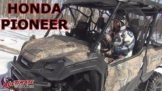 10. 2016  HONDA PIONEER 5 SEATER 1000 AND CUSTOM REAR BUMPER...RIDE AROUND CAMP