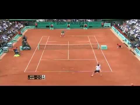 Soderling ante Nadal (Final del Roland Garros 2010)