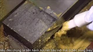 máy hút dầu mỡ thải lube