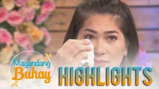 Video Magandang Buhay: Jackie Foster gets emotional sharing about her reunion with Kobe Paras MP3, 3GP, MP4, WEBM, AVI, FLV September 2019