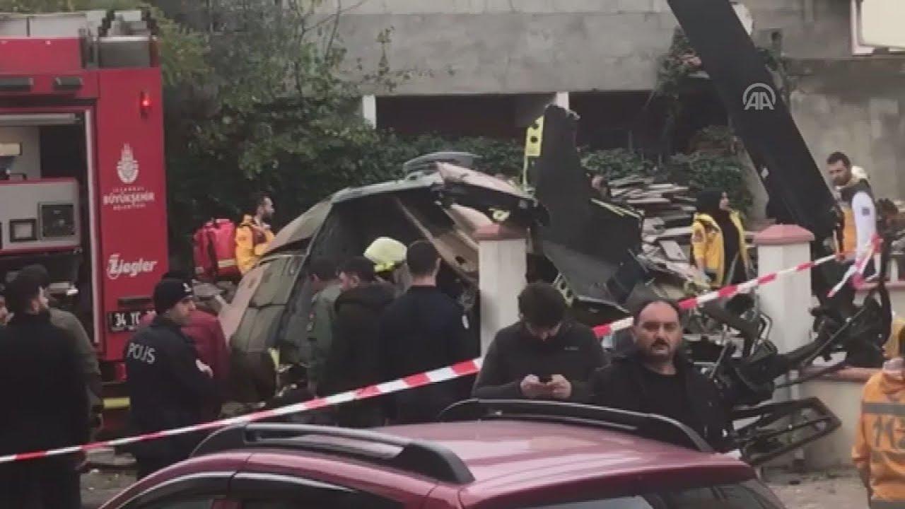 Συντριβή στρατιωτικού ελικοπτέρου σε κεντρική συνοικία της Πόλης-τρεις νεκροί