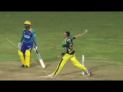 Farveez Maharoof smashes Harbhajan out of the park - IPL 2010