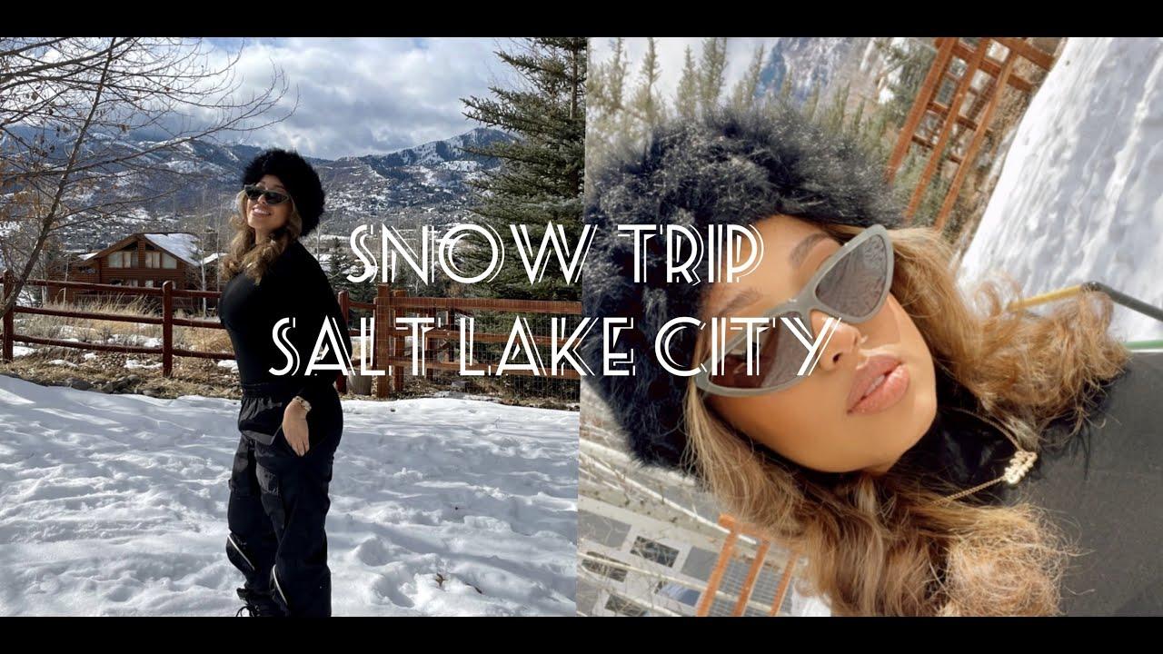 Travel Vlog: My First Ski Trip | Salt Lake City