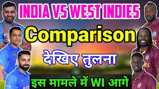 India Vs West Indies: Full Team Comparison, 27 June