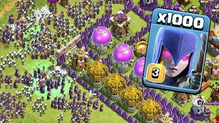 1000 Witch Zombie Attack On COC |  NEW Modded Apps Game Play