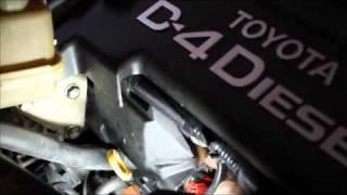 Replacing SCV Valves Toyota D4D