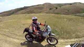 7. Rail road butte, SD. OHV . on a KTM 990, and 640 adventure. Part 1.